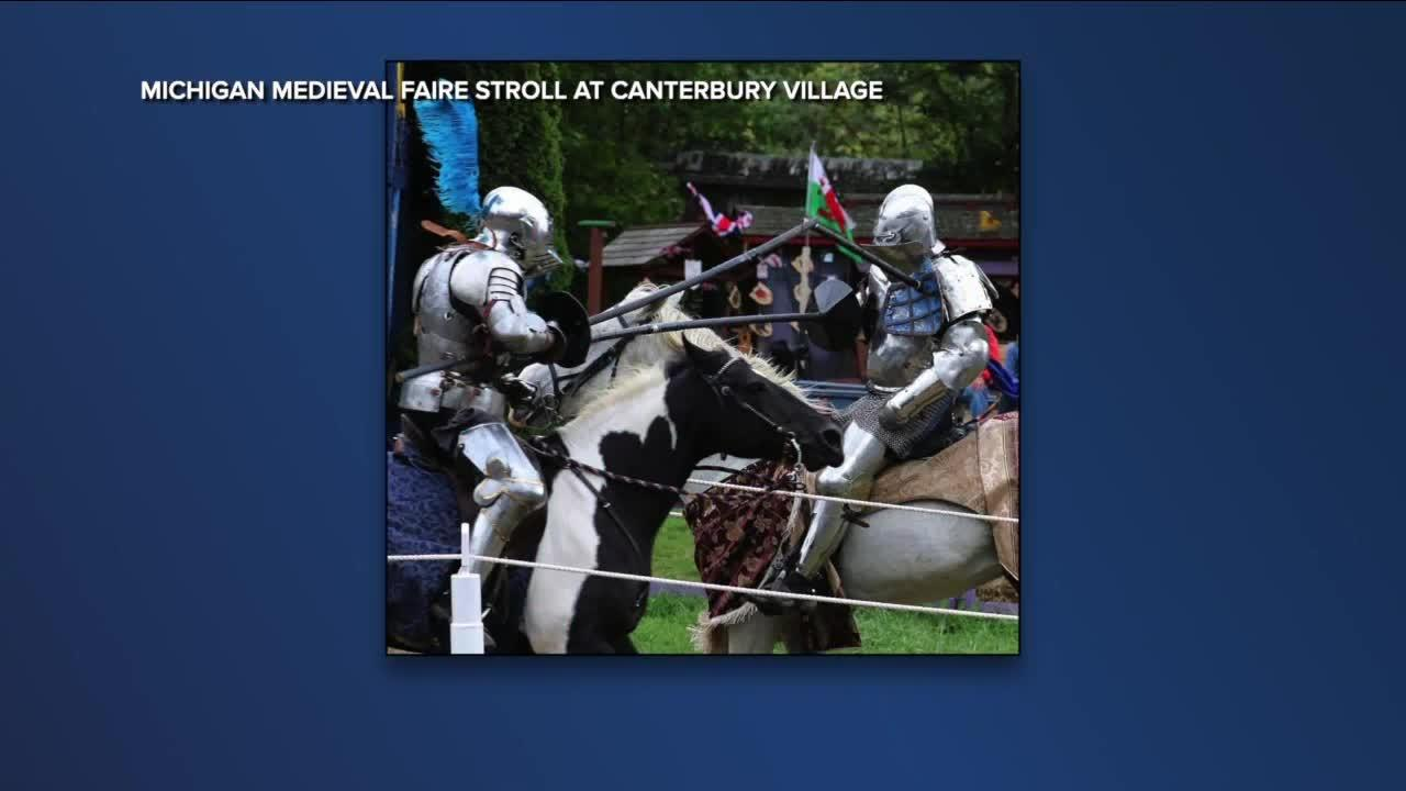 Michigan Medieval Faire Stroll happening this weekend