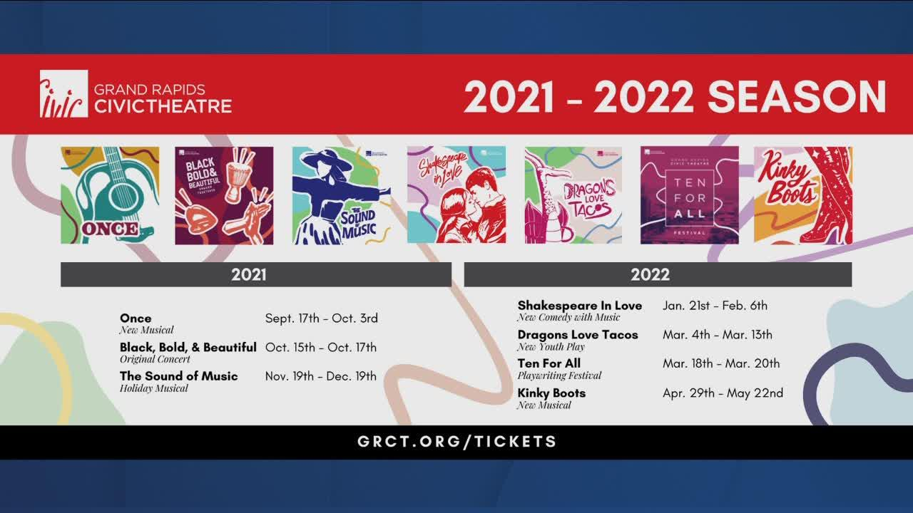Grand Rapids Civic Theatre schedule announced