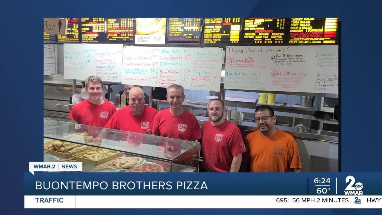 Buontempo Brothers Pizza says Good Morning Maryland