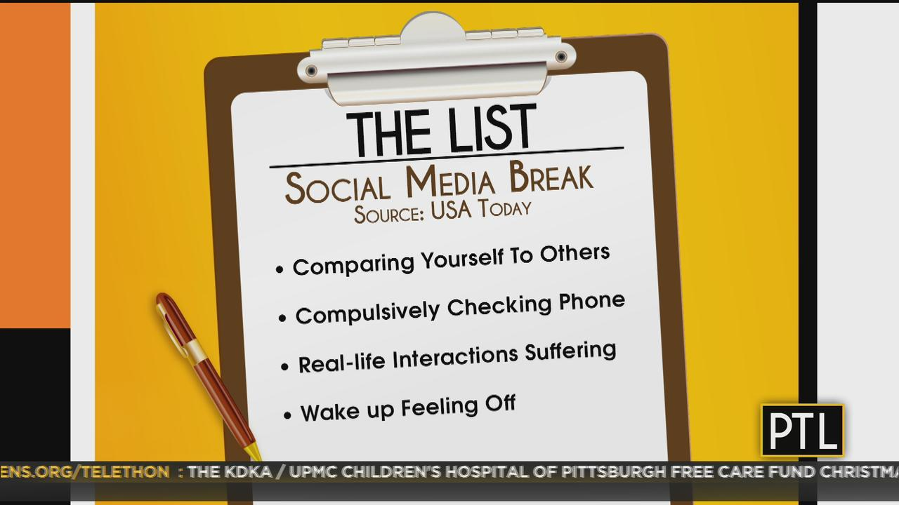 The List: Unplugging From Social Media