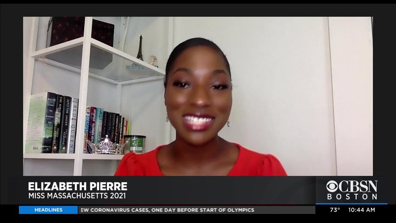 Cambridge Native Elizabeth Pierre Wins Miss Massachusetts 2021