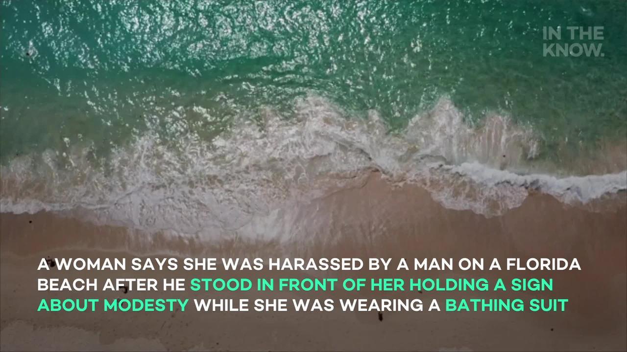 TikToker slams man telling women to dress modestly at beach