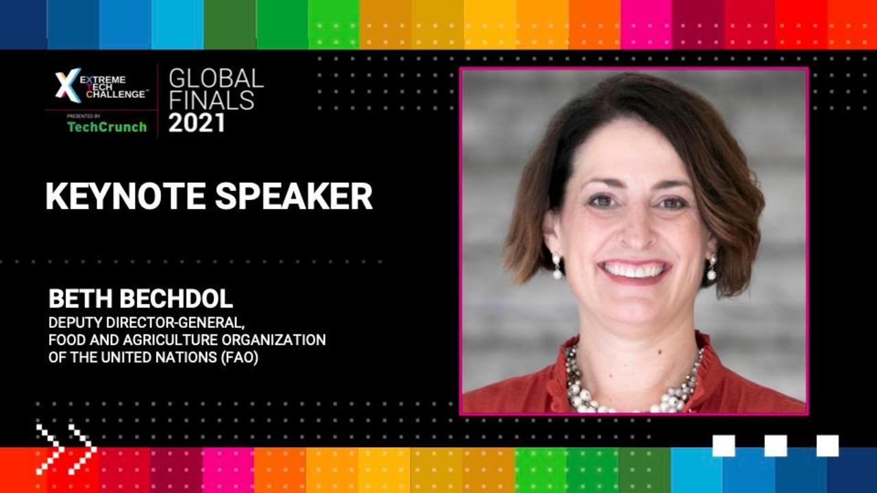 Extreme Tech Challenge Global Finals: Beth Bechdol Keynote
