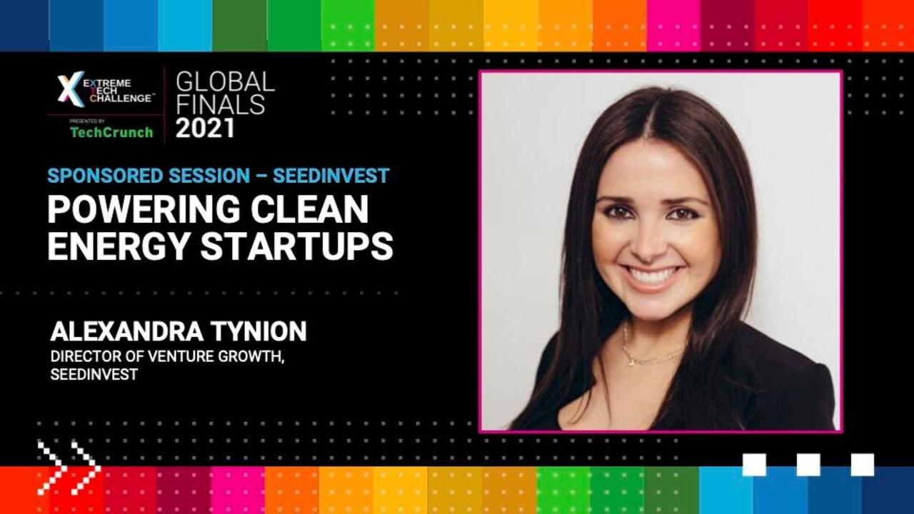 Extreme Tech Challenge Global Finals: Powering Clean Energy Startups