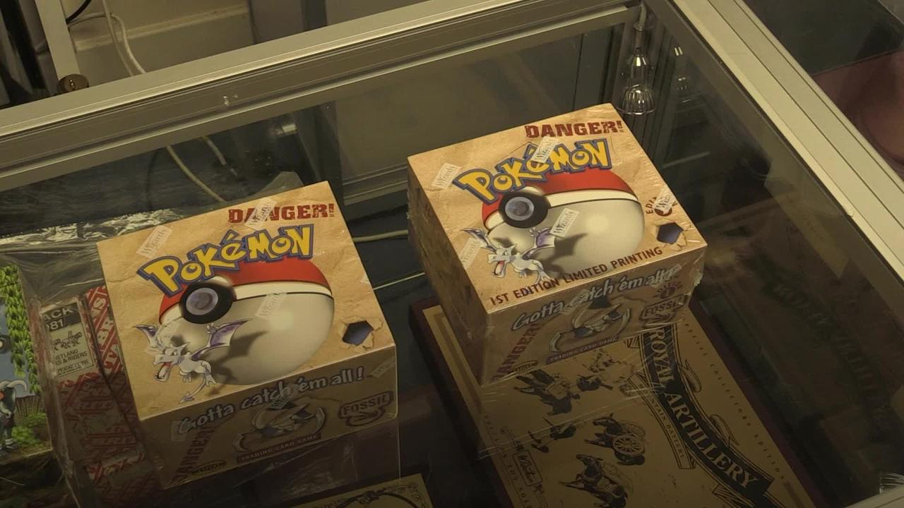 Pokemon cards set to fetch tens of thousands at auction