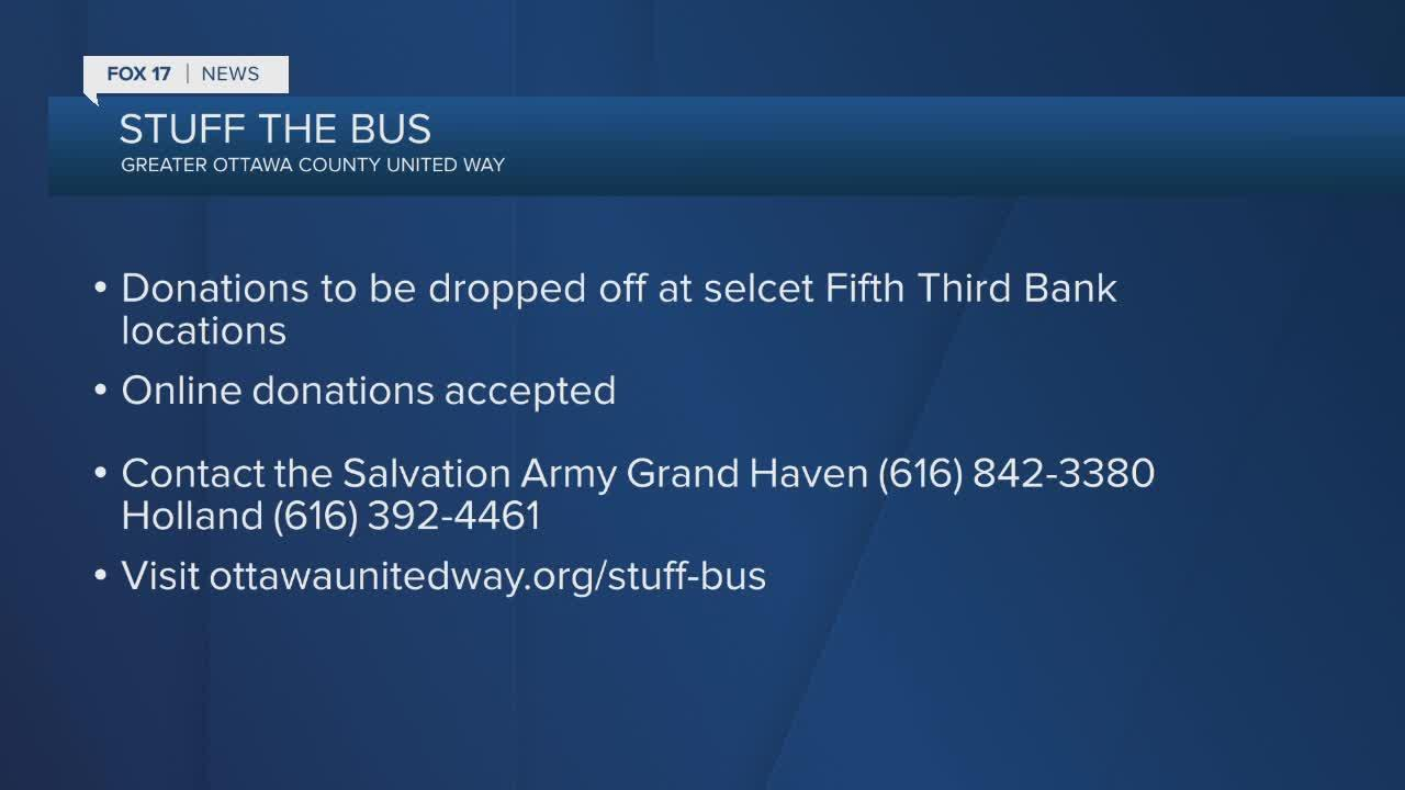 Ottawa County Stuff the Bus campaign