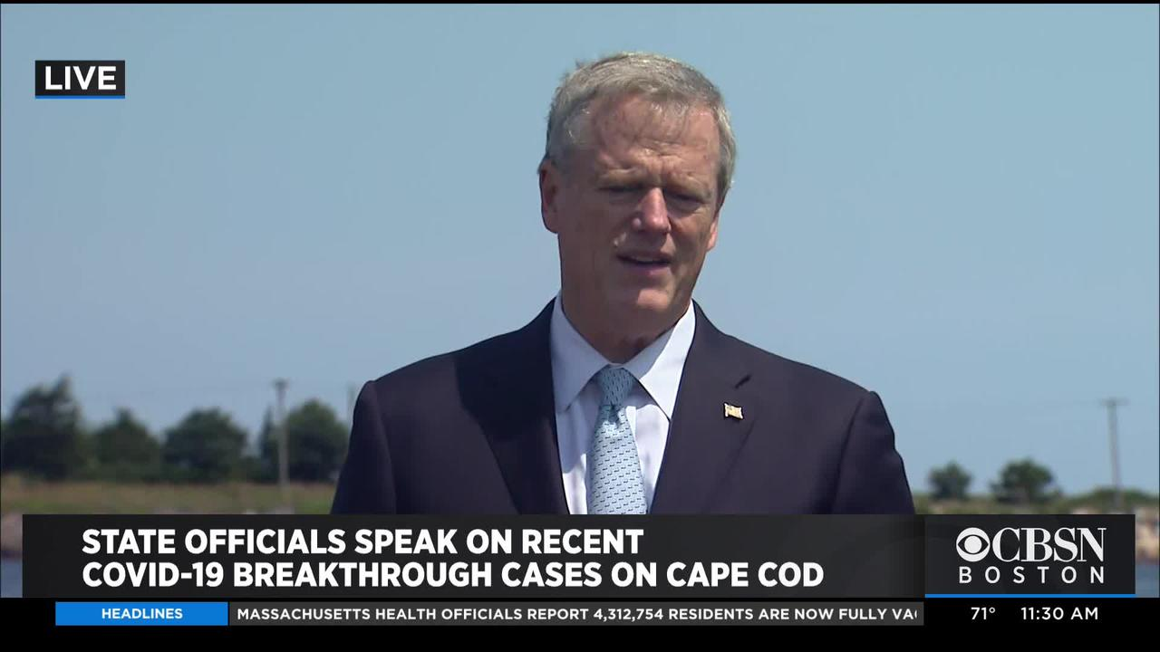 Gov. Baker Not Looking At Bringing Back COVID Restrictions In Mass. Despite Rise In Cases