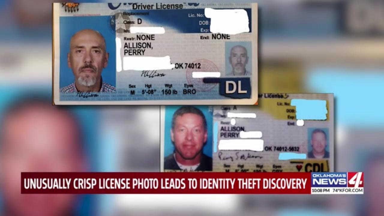 Oklahoma bank's suspicion over way-too-clear driver license photo stops identity theft in its tracks