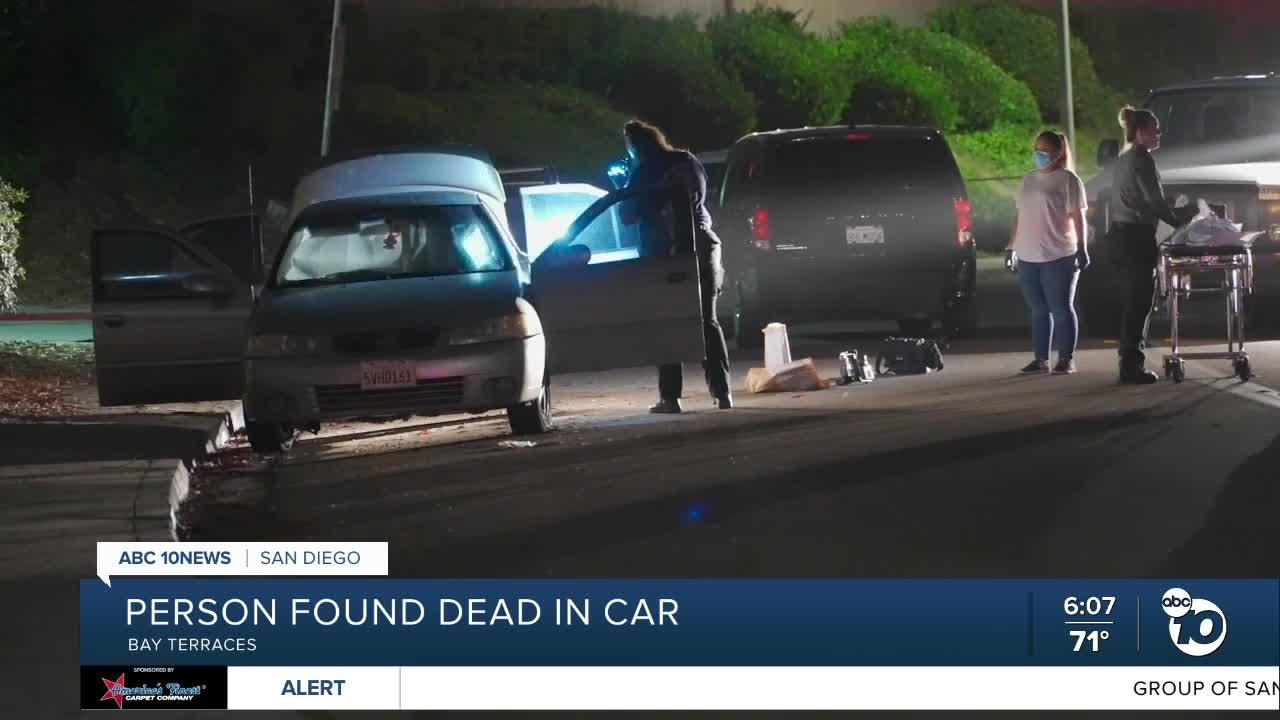 Person found dead in parked car in Bay Terraces