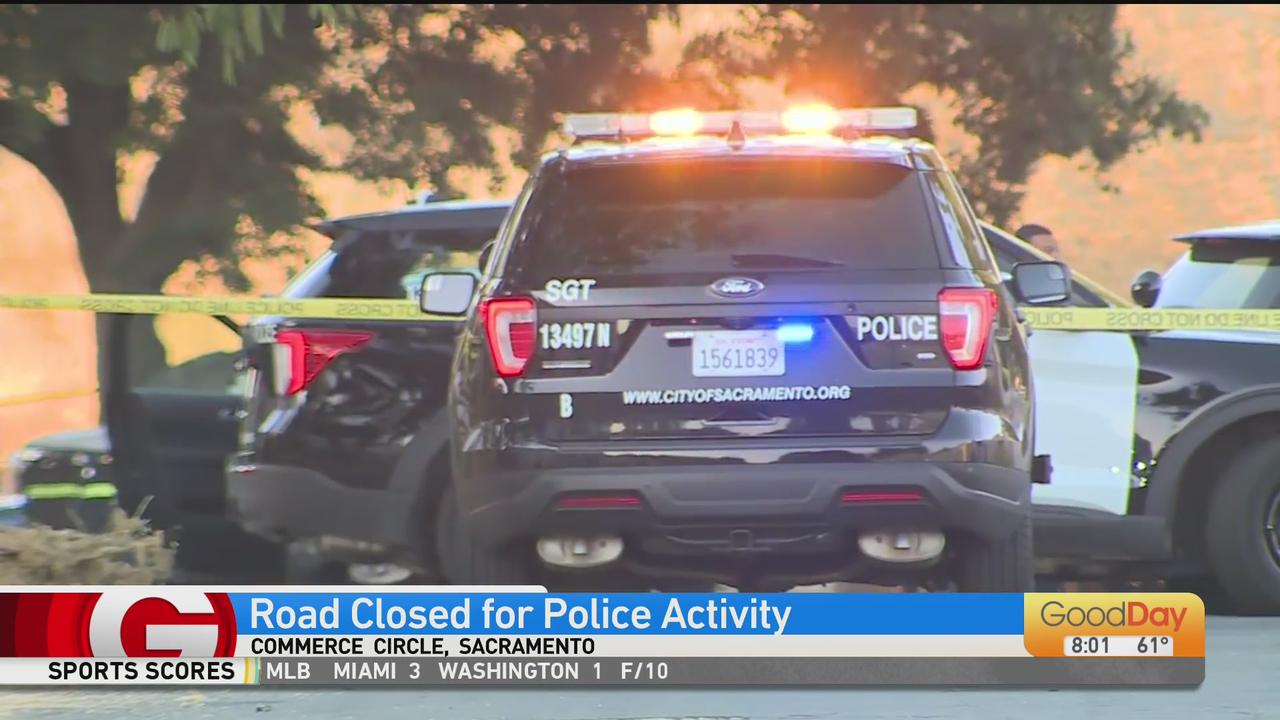 Sacramento Road Closed For Police Activity