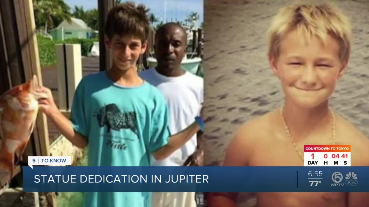 Jupiter statue to honor those lost at sea 6 years after Austin and Perry went missing