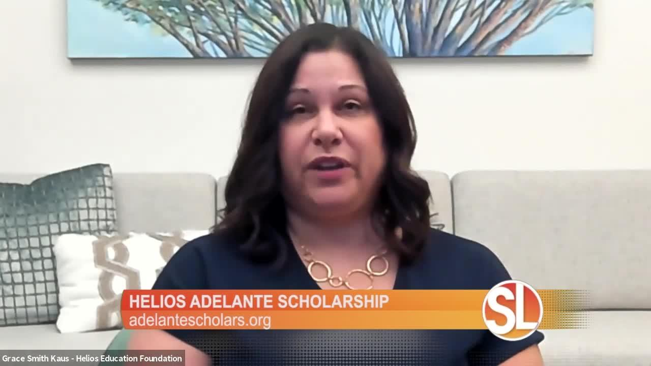 Helios Education Foundation: Time to apply for the Helios Adelante Scholarship
