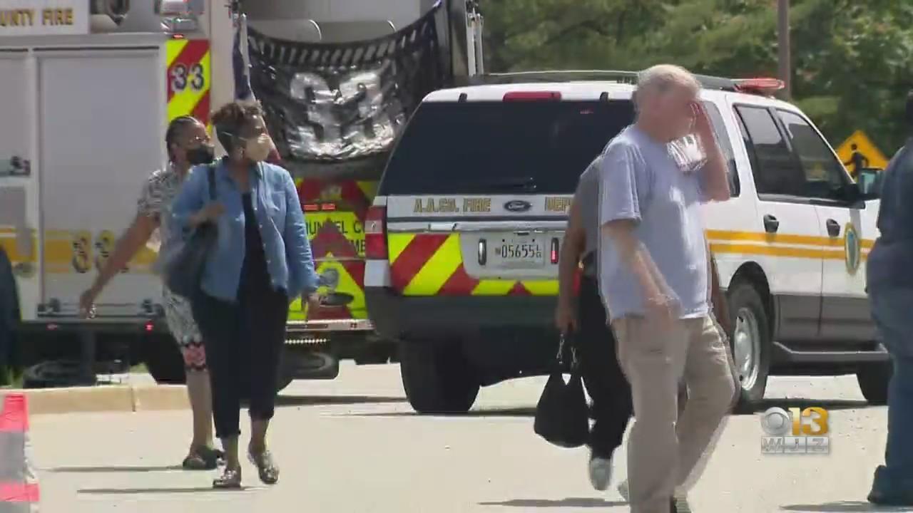 Glen Burnie MVA Temporarily Evacuated After Gas Line Struck
