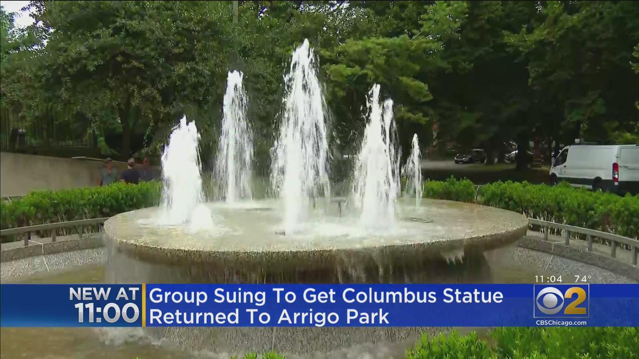Group Suing To Get Columbus Statue Returned To Arrigo Park