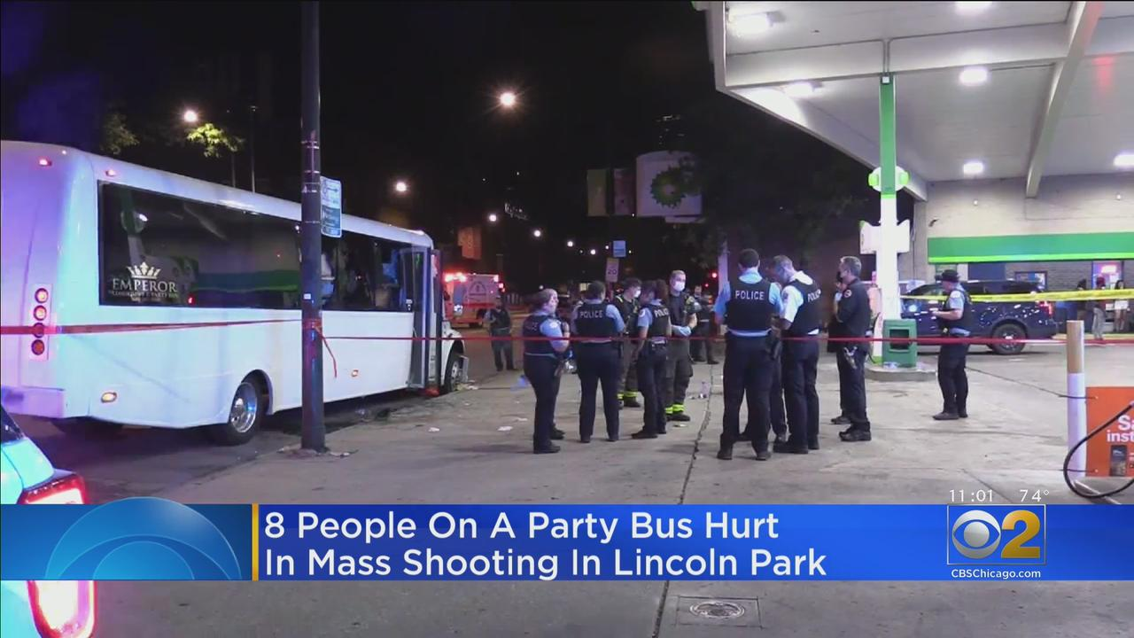 8 People Injured After Shots Fired At Party Bus In Lincoln Park; 2 Mass Shootings Reported In Lawndale Hours Before