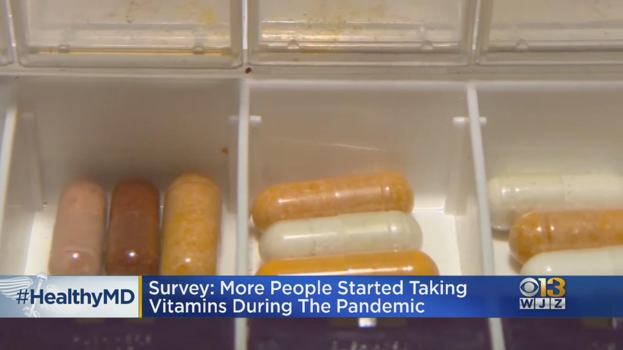 HealthWatch: More People Started Taking Vitamins During Pandemic, Survey Says