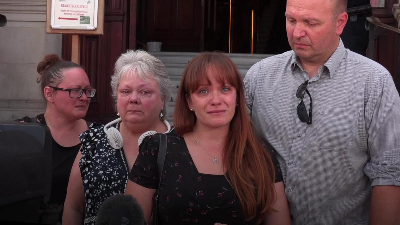 Family members react to Croydon tram inquest conclusion