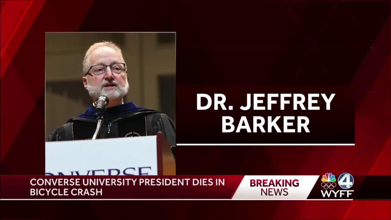 President of Converse University dies after falling off bike, university confirms