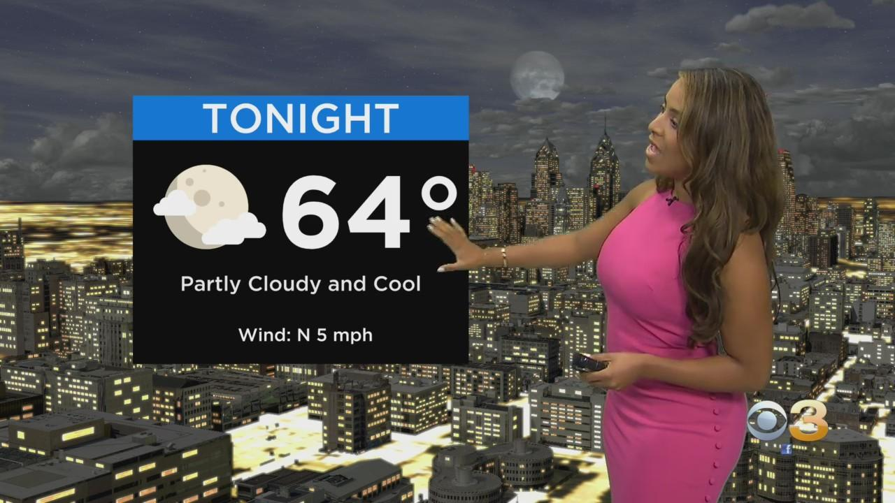 Weather Update: Excellent Thursday Night Ahead