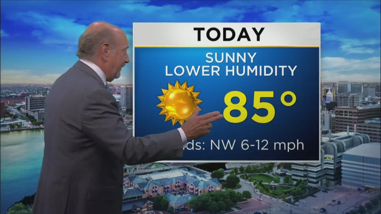 Marty Bass Has Your Thursday Afternoon Forecast