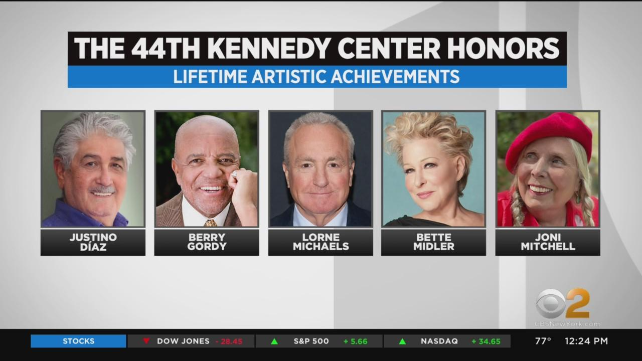 44th Kennedy Center Lifetime Achievement Honorees Announced