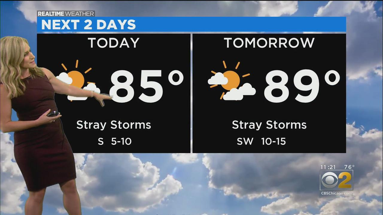 Chicago Weather: Big Warmup Coming; Stray Storms Possible