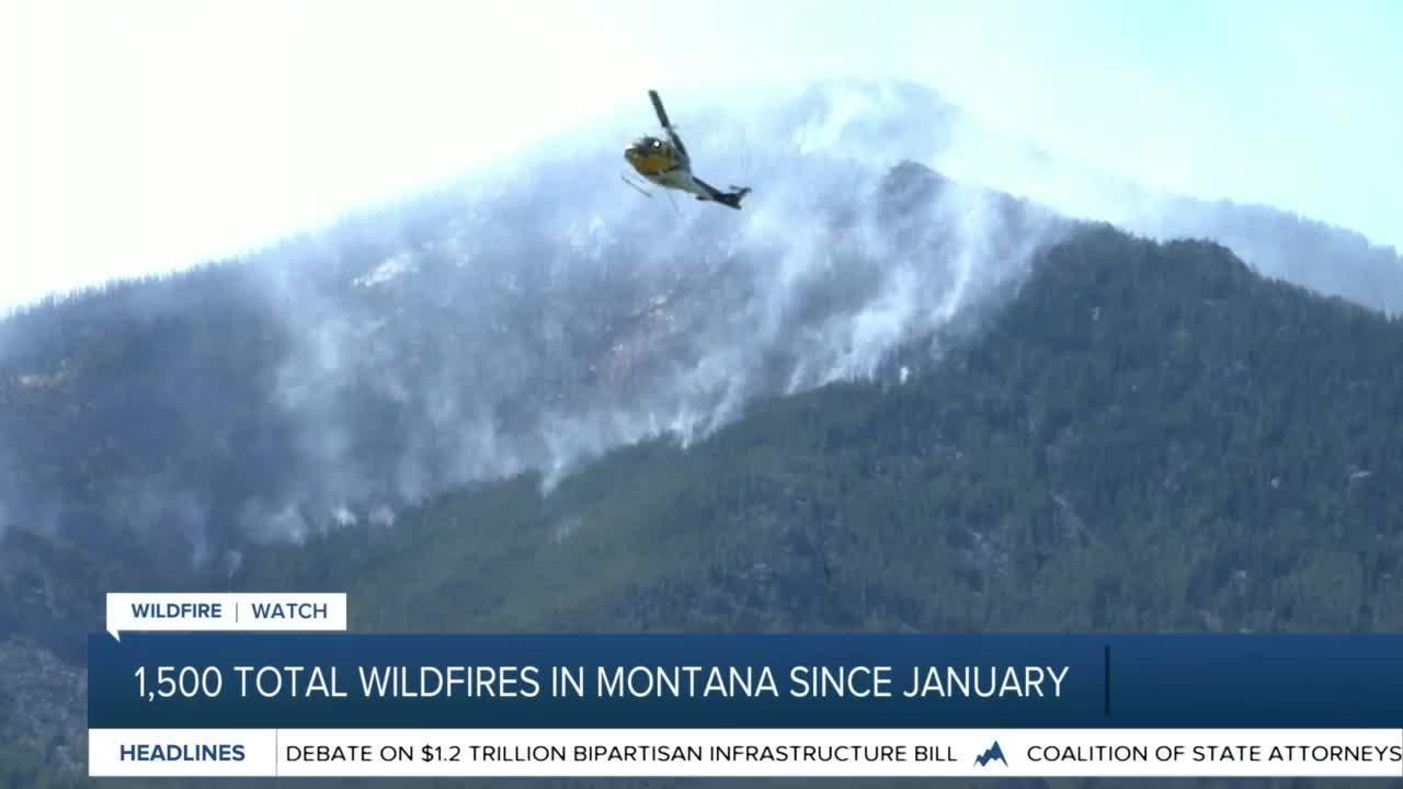 Gianforte receives briefing on Montana wildfires