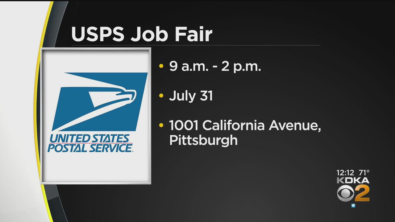 USPS Holding Job Fair In Pittsburgh