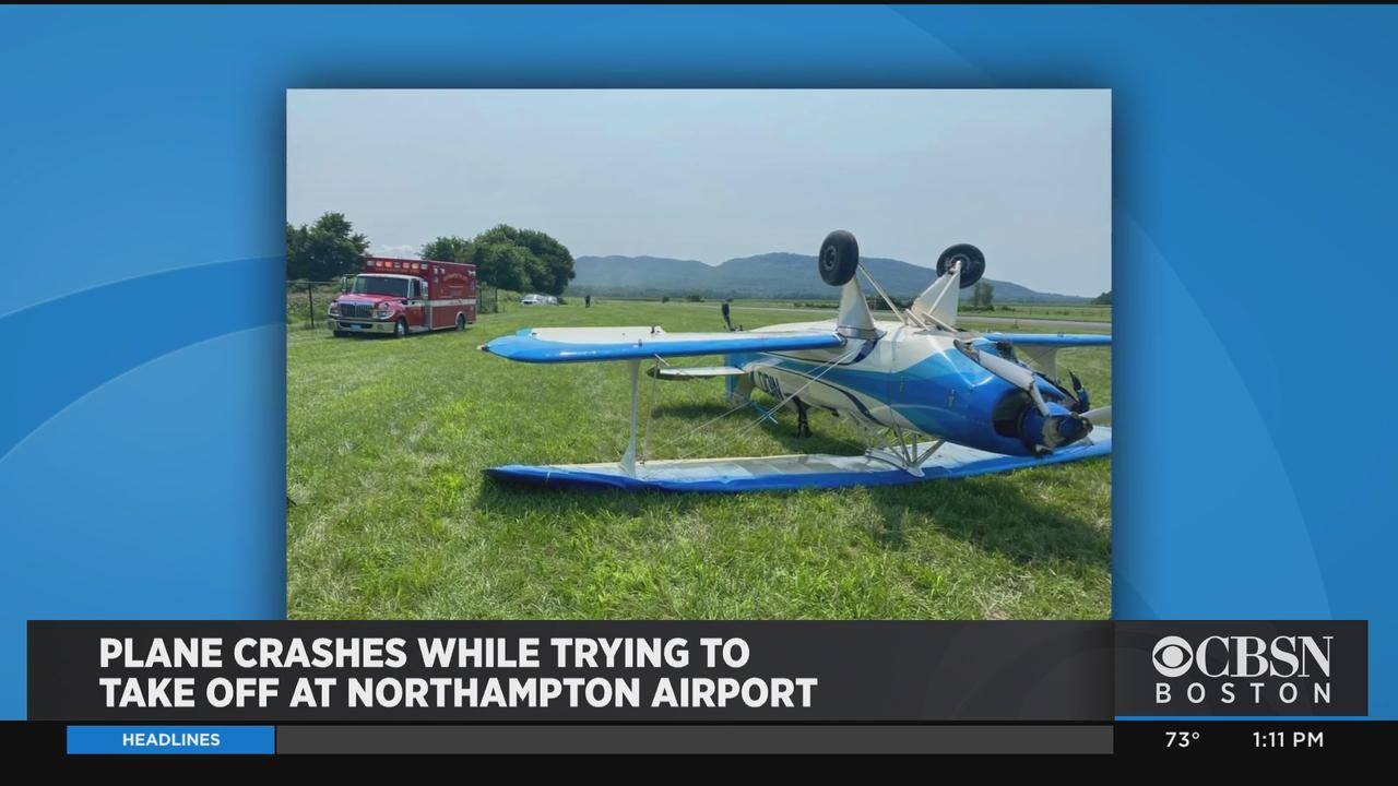 Plane Crashed While Trying To Take Off At Northampton Airport
