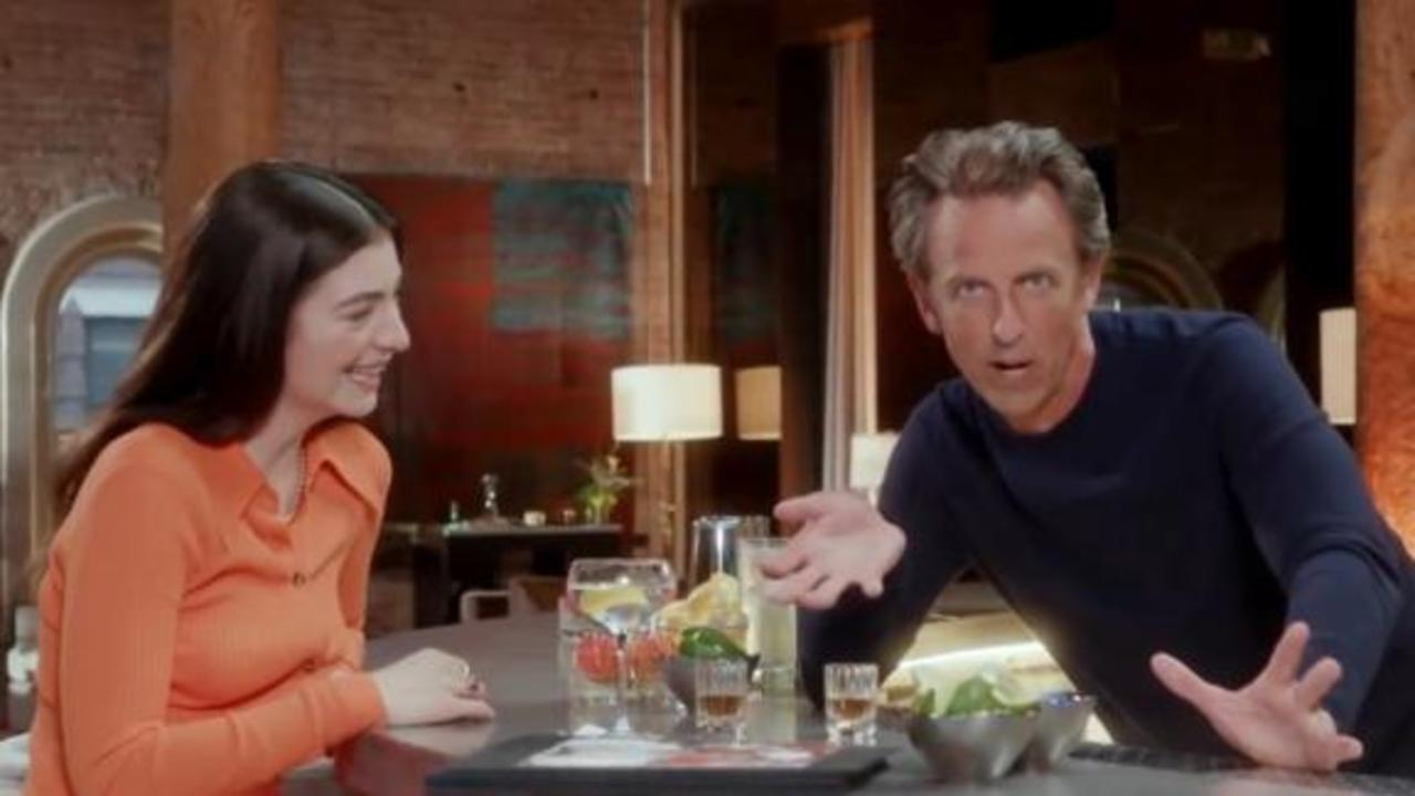 Intoxicated Seth Meyers has trouble with Lorde's real name