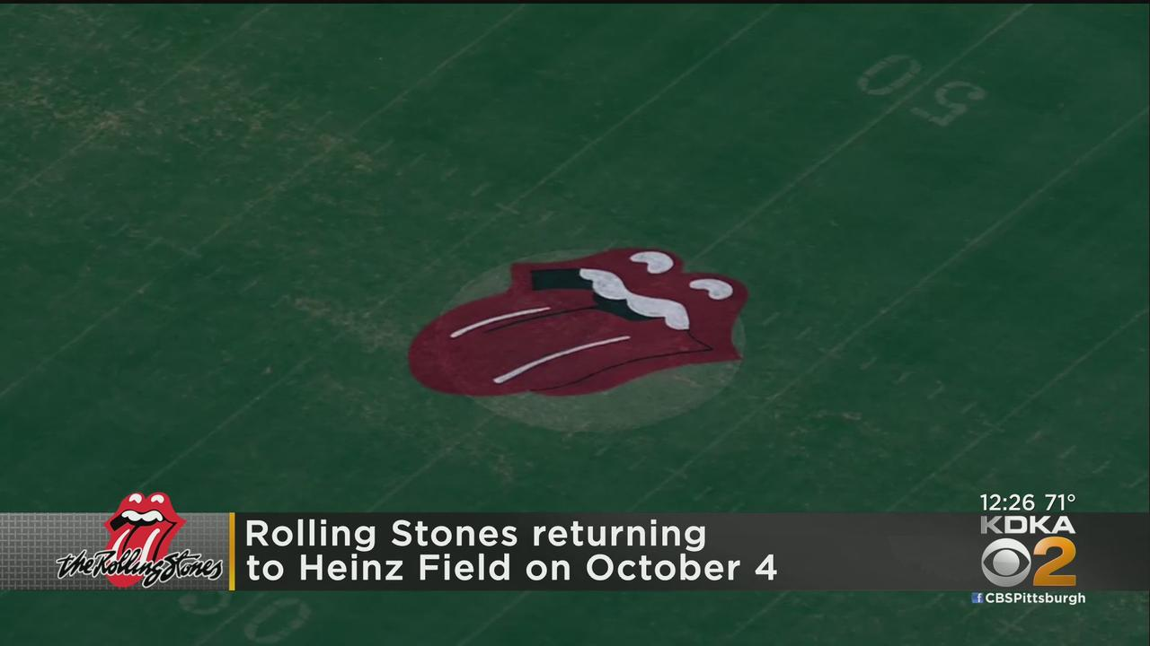 Rolling Stones Announce Rescheduled Tour Date For Heinz Field