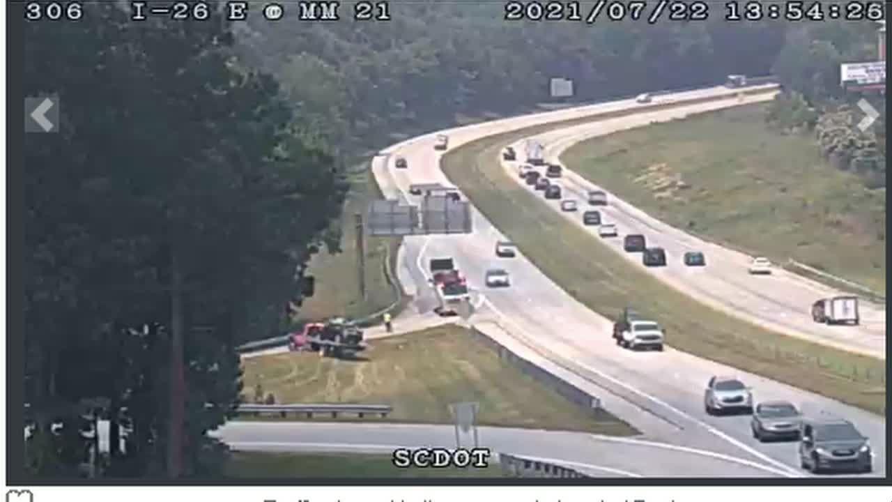 Deadly crash on Interstate 26 crash