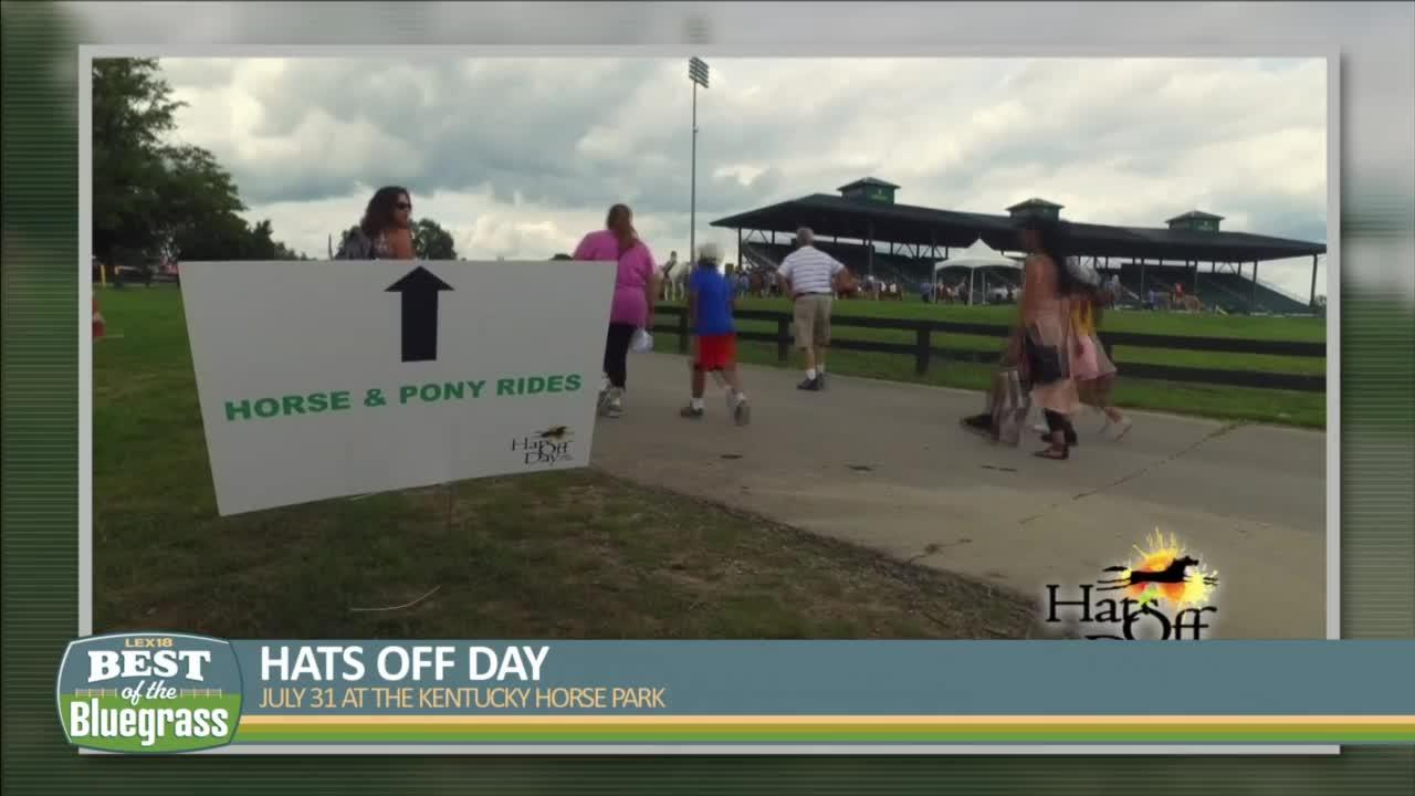 Hats Off Day happening on July 31 at Kentucky Horse Park