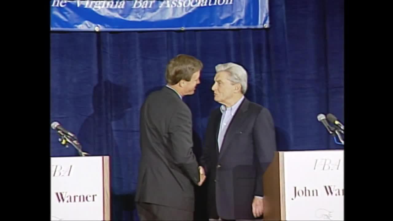 U.S. Senate Debate: Mark Warner and John Warner