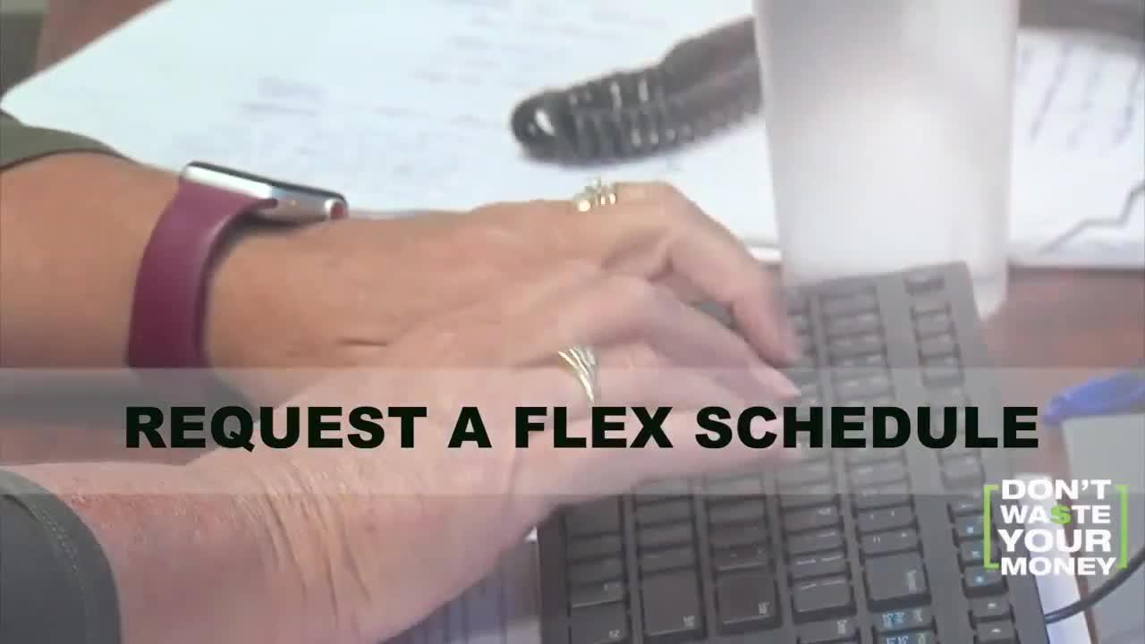 How to request a flex schedule