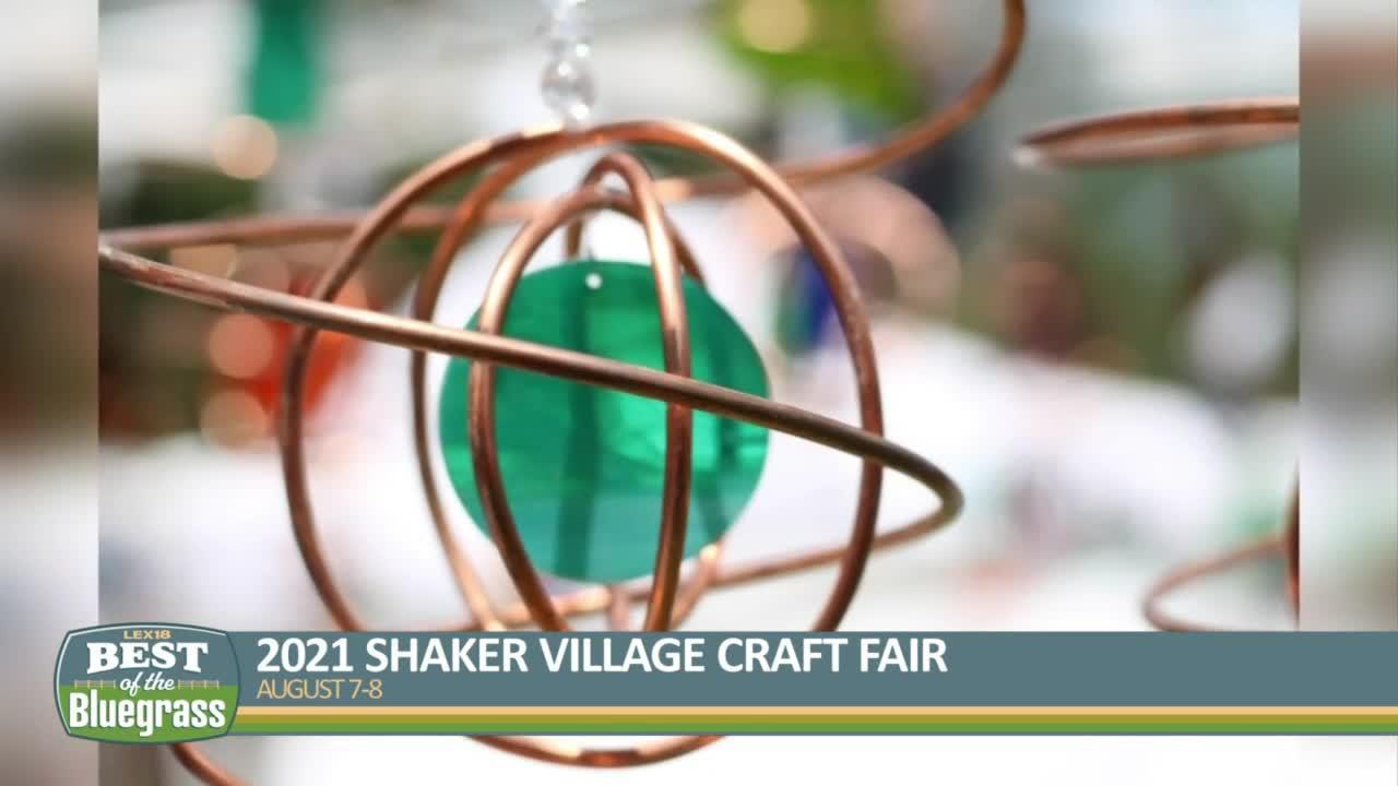 2021 Shaker Village Craft Fair happening August 7-8