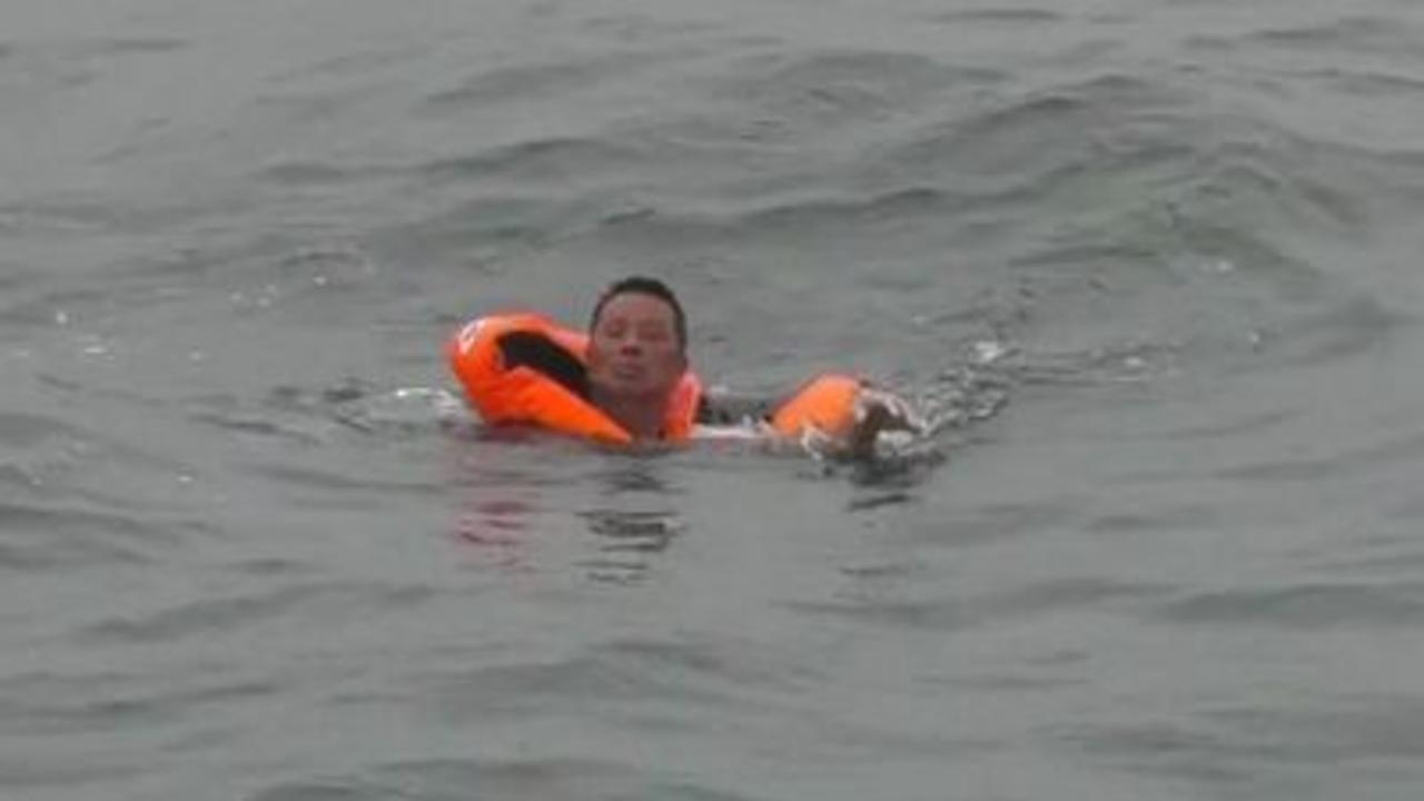 Man rescued after 49 hours in water