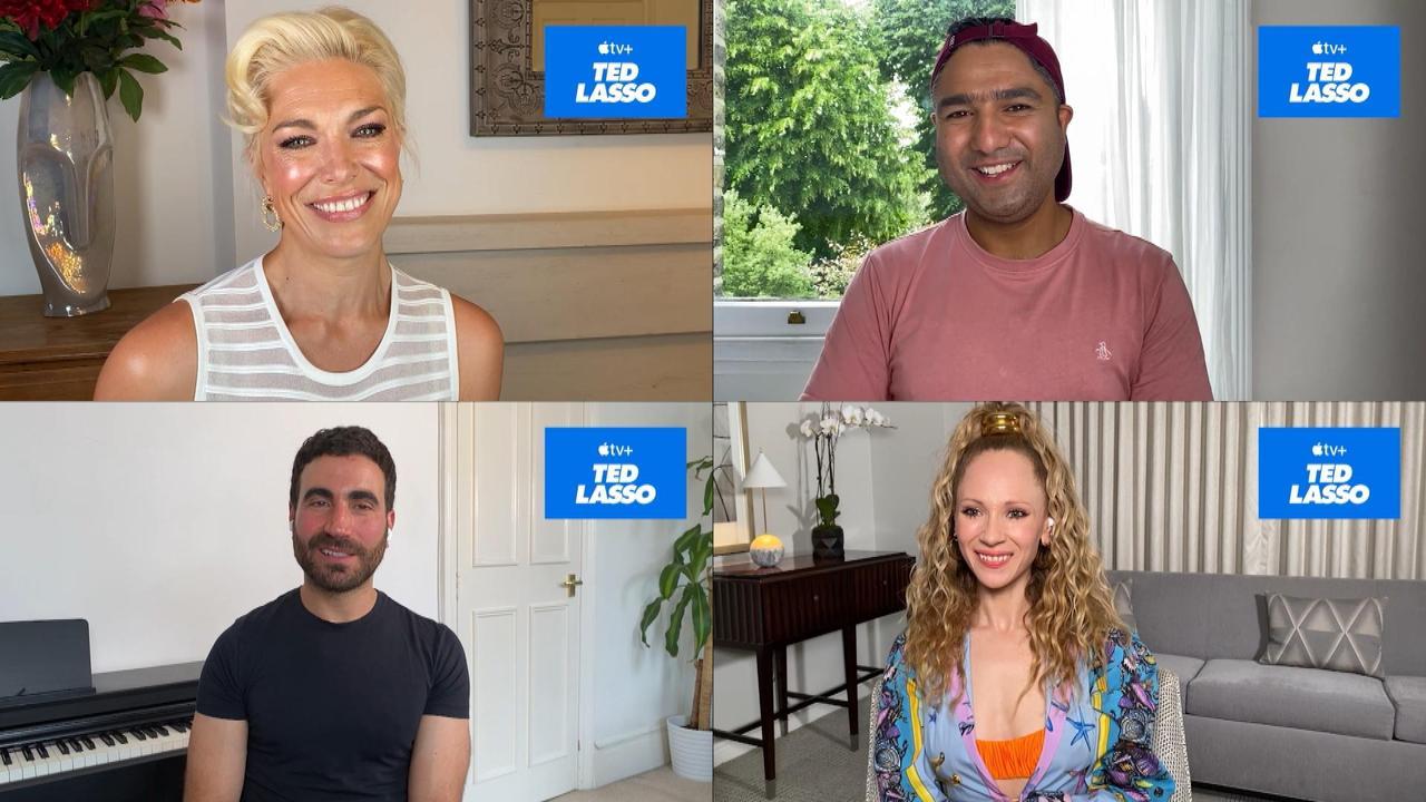 Cast Previews 'Ted Lasso' Season 2