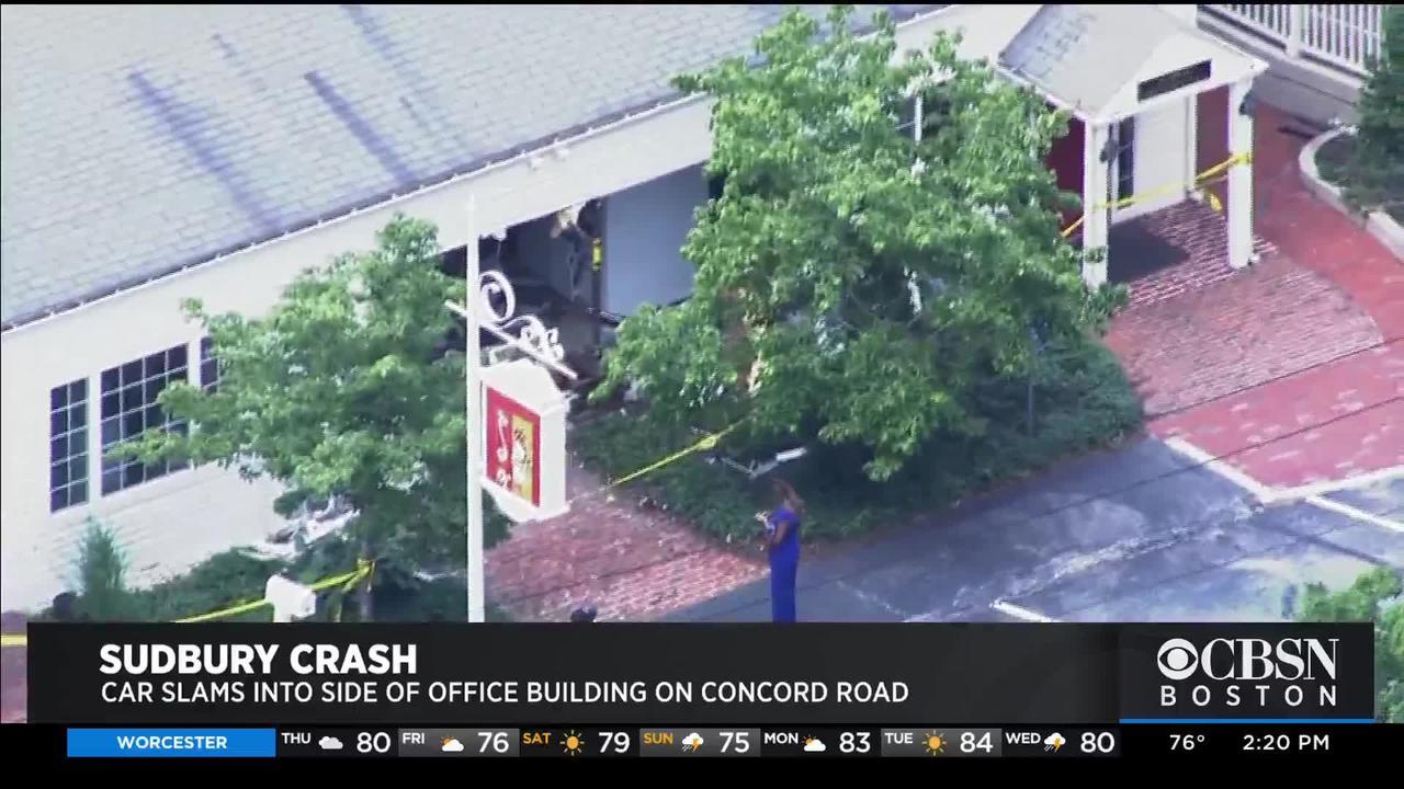 Tesla Crashes Into Side Of Orthodontics Office In Sudbury