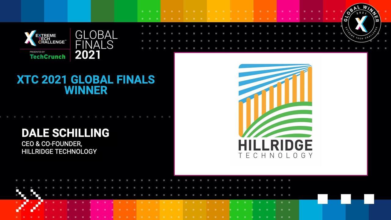 Extreme Tech Challenge Global Finals: Startup Pitches Part 1 - Hillridge Technology Pty. Ltd.