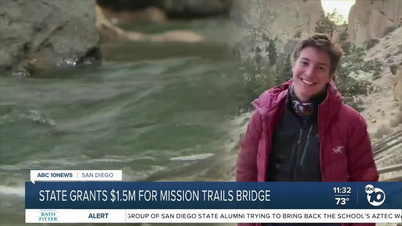 State grants $1.5M for Mission Trails bridge