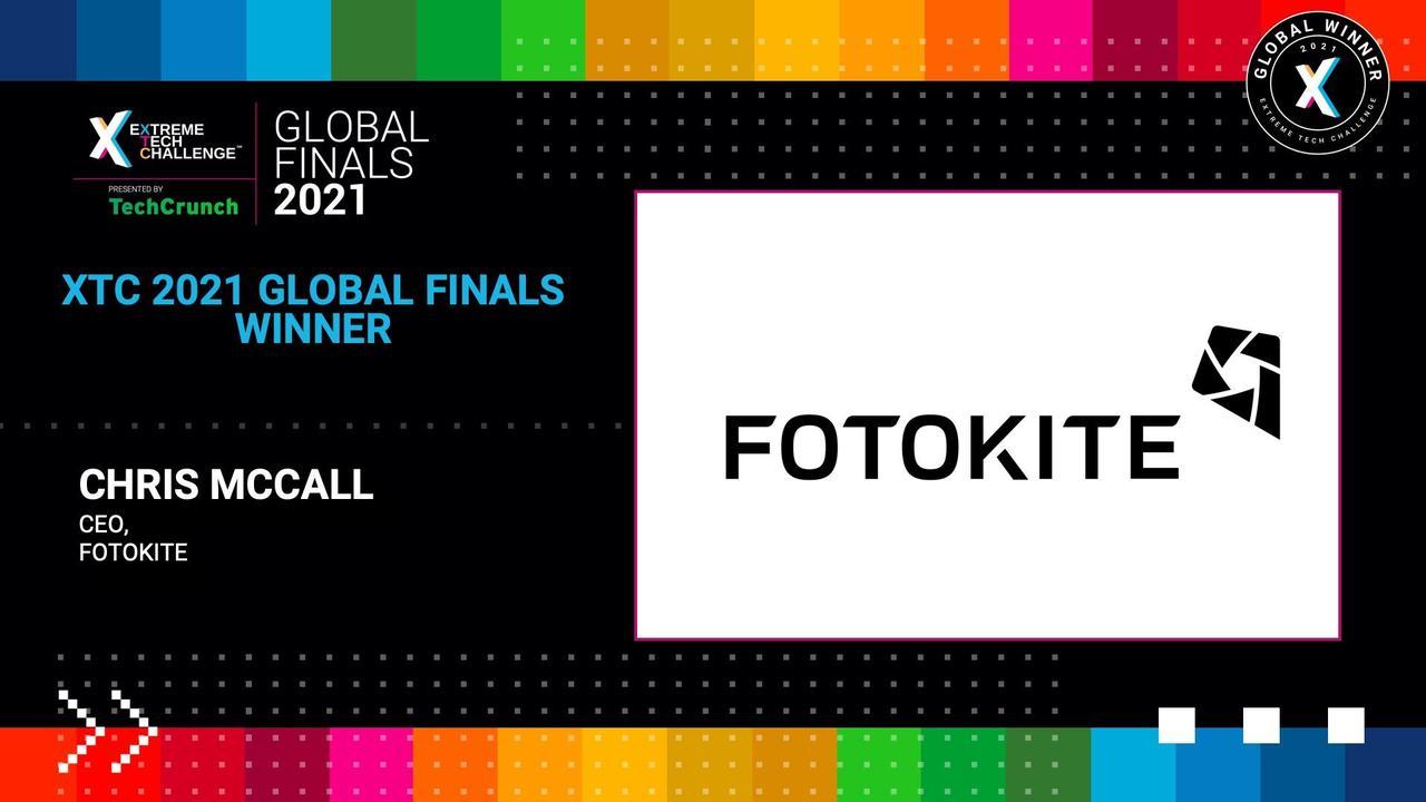 Extreme Tech Challenge Global Finals: Startup Pitches Part 2 - Fotokite