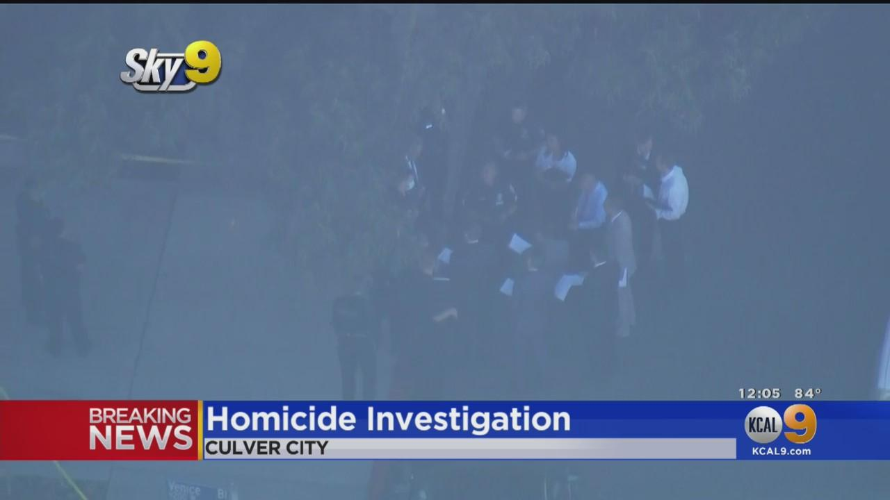 Man Shot To Death In Culver City Park, Second Man Detained