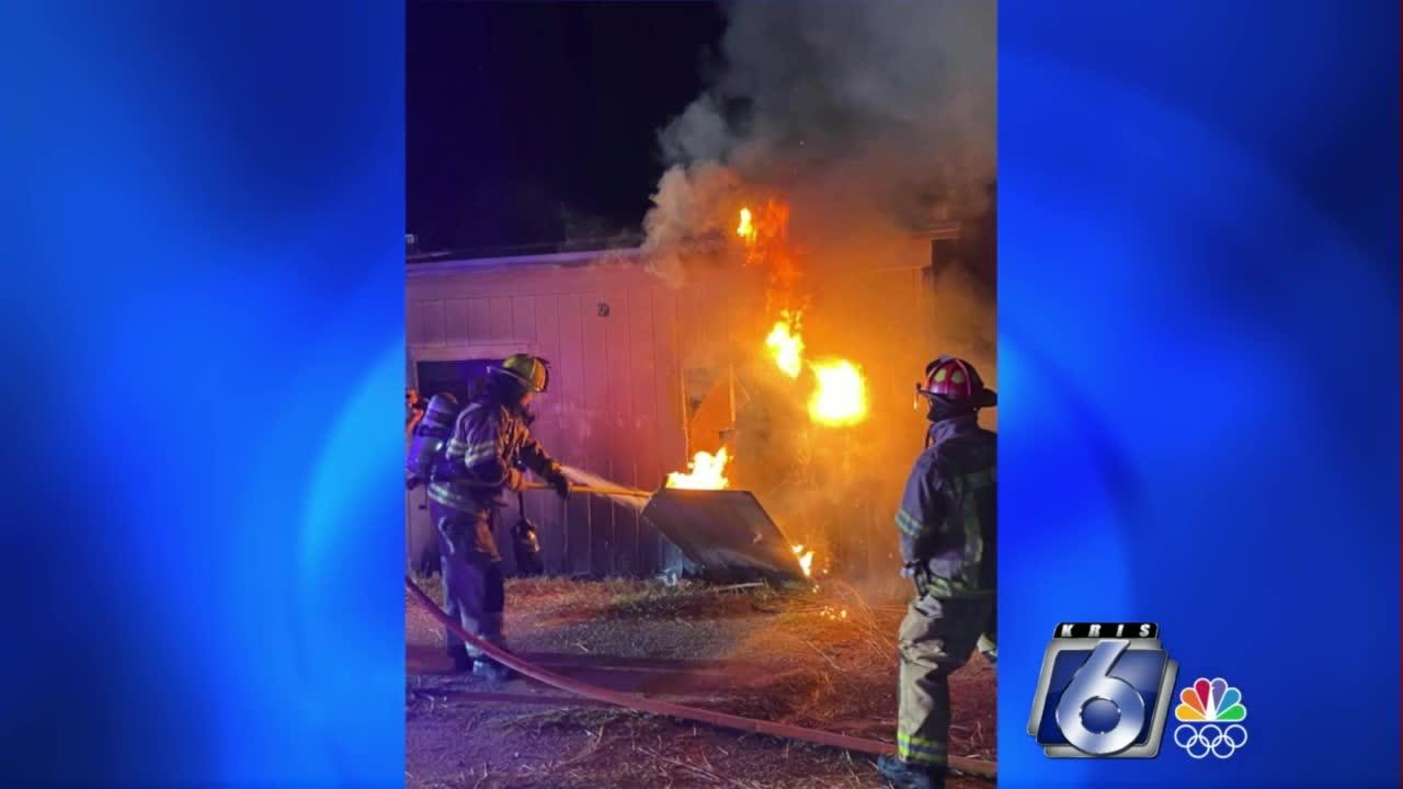 Investigators determining cause of overnight Bishop fire