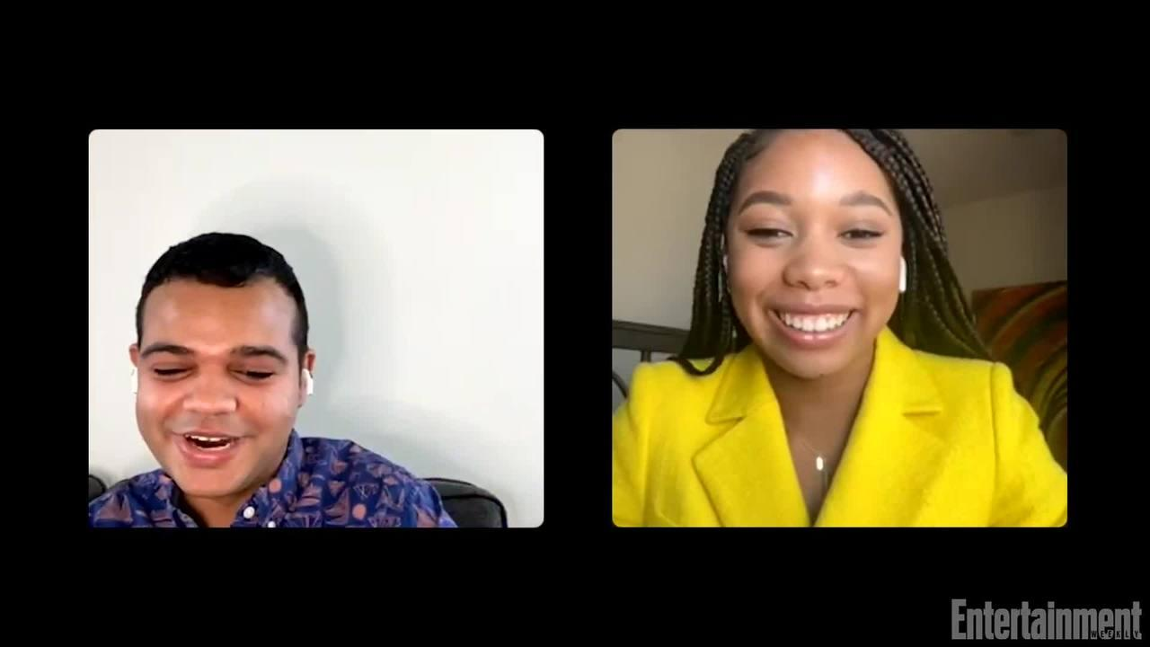 Dad Stop Embarrassing Me stars Kyla-Drew and David Alan Grier share times their parents embarrassed them