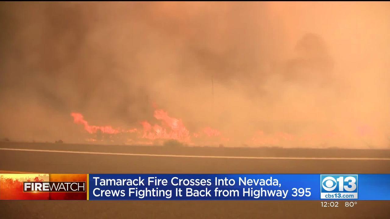 Fire Watch: Tamarack Fire Crosses Into Nevada