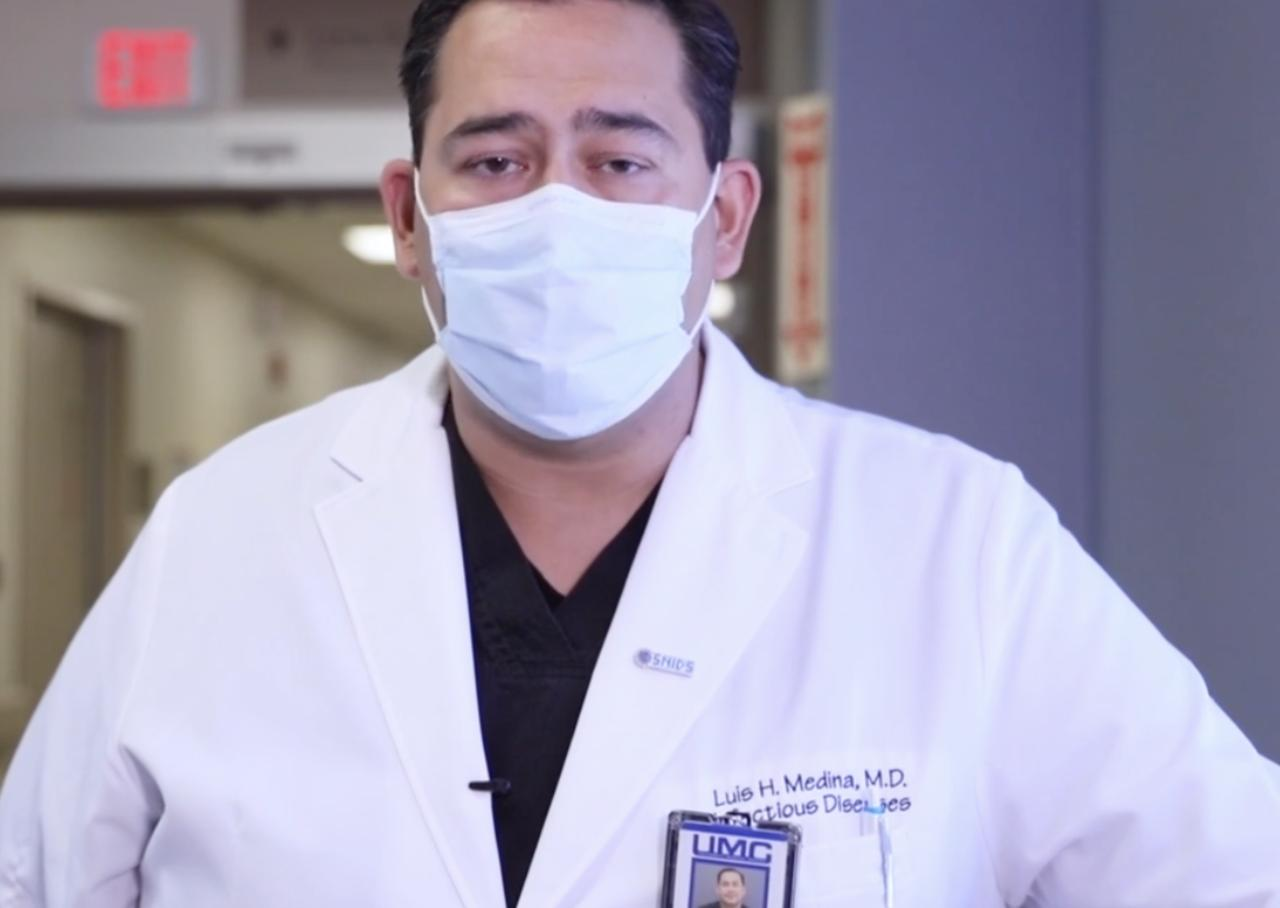 Vegas hospital workers discuss COVID surge   University Medical Center
