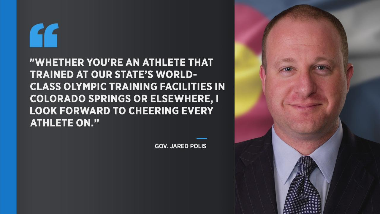 Gov. Jared Polis Wishes Luck To Olympians Competing In Tokyo