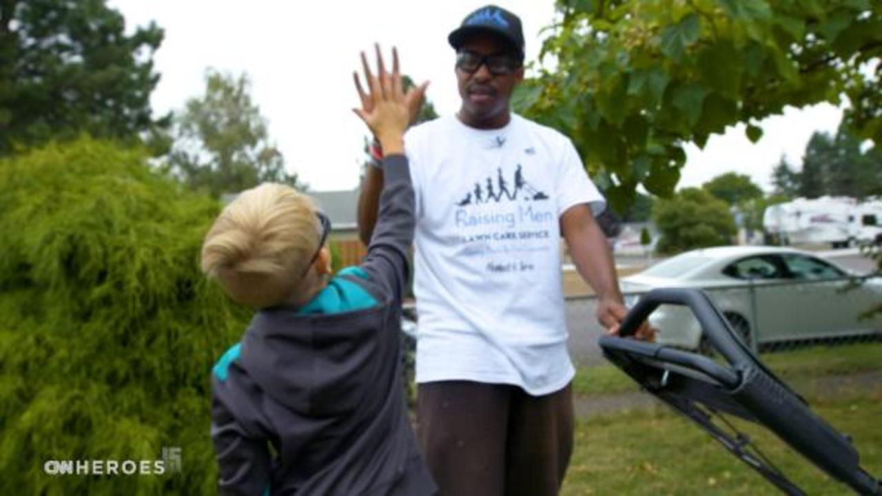 CNN Heroes Salutes: Inspiring kids 'one lawn at a time'