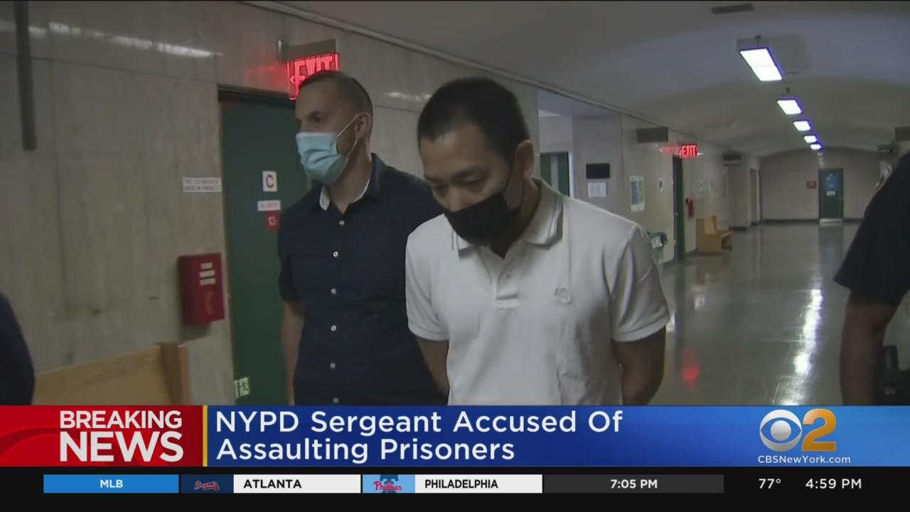 NYPD Sergeant Accused Of Assaulting Prisoners